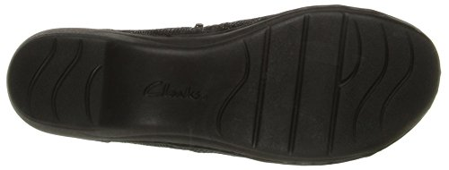 Clarks Channing Ann Slip-on Mocassins Black Mini Lizard Print
