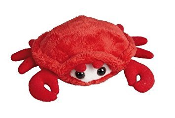 Suma Plush Soft Toy Red Crab. 15cm.