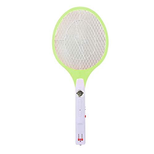 Y56 Elektrische Fliegenklatsche/Mückenbekämpfer Moskito-Mörder elektrischer Insektenvernichter (Grün)