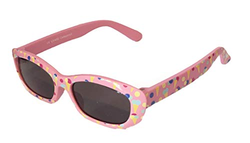 Sonnenbrille Little Kids JUNGE UND MÄDCHEN | 8 monate bis 2 Jahre | sehr komfortabel und sicher | 100% UV-Schutz und flexible Gummibeine. | ideales Geschenk für Kinder
