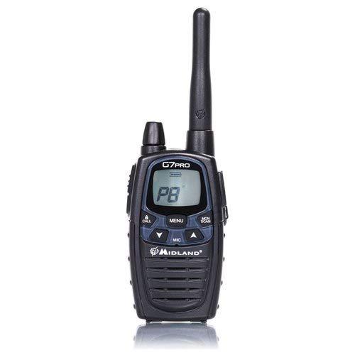 Midland G7 Pro Radio Ricetrasmittente Walkie Talkie Dual Band 8 Canali PMR446...