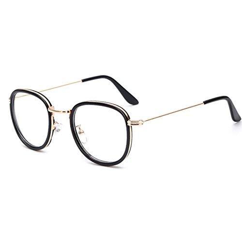 SCJ Koreanische Literatur transparenten Kreis Rahmen Brille die Frau ins runde Gesicht wiederbeleben Alten Bräuchen eine ursprüngliche Nacht Brille Rahmen weibliche Flut Han Ban ist kurzsichtig