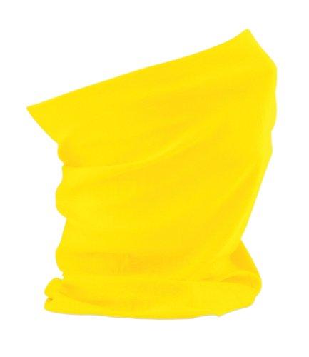 Beechfield, scaldacollo/bandana versatile yellow etichettalia unica
