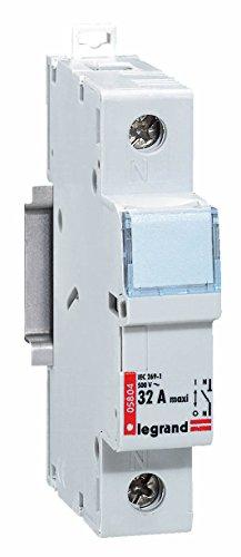 Industrielle Leistungsschalter (Legrand LEG05804 Leistungsschalters Isolierter 1p Kartusche zylindrisch industrielle Neutral 500 V ~)