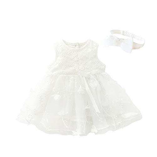 YpingLonk ♥ Baby Prinzessin Kleid Kleid Kinder Baby Mädchen Tutu Bowknot Sleeveless Flower Babyschuhe Baby Weiche Sohle Lederschuhe Kleider Kleidung