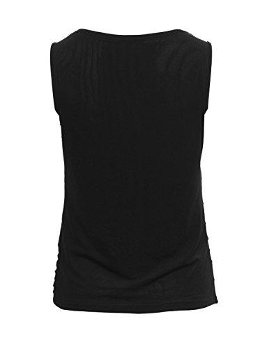 Ma Coquette Damen T-Shirt Schwarz - Schwarz
