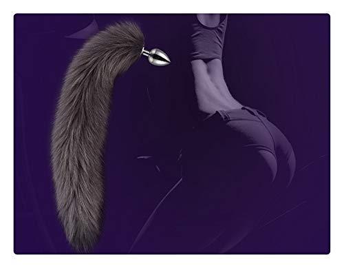 Z-one 1 Fuchsschwanz ohne Kaninchen Mädchen Set Tiere Kaninchen Maske Schleier Ohren Stirnband Kopfbedeckung Party Halloween Dress Up ()