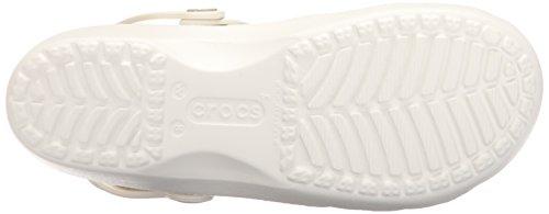Crocs Karin Clog W Mary jane, Donna Bianco (Oyster)
