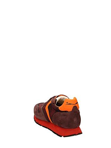 Voile Blanche  Liam Velour, Baskets pour homme Violet Prune 40 Prugna Arancio
