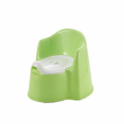 HM Kinder Toilette Baby Toilette Baby Urinals Tragbare Kinder Urinalbecken,Grün