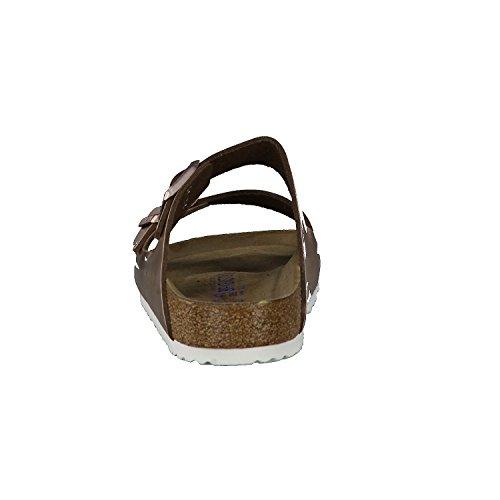 Birkenstock  Arizona Metallic, Mules femme braun