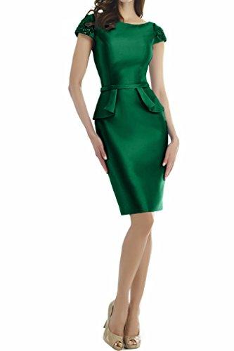 Missdressy - Robe - Dos ouvert - Femme Vert foncé