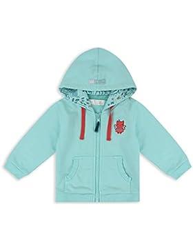 The Essential One - Baby Kinder Mädchen Katze Hoodie Pullover - Türkis - EOT623