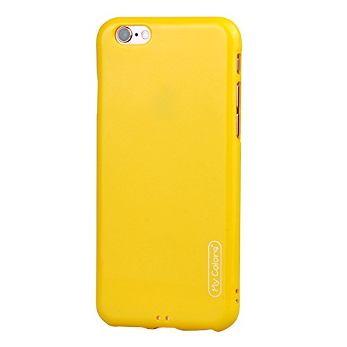 "MOONCASE iPhone 6 Plus/iPhone 6s Plus Coque, Housse Étuis Doux TPU Anti-rayures Anti-chocs Protection Slim Fit Résilient Armor Case pour iPhone 6 Plus/iPhone 6s Plus 5.5"" Yellow Yellow"