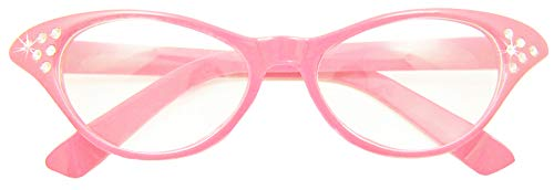 Fifties Cat Eye Brille Diamond ()