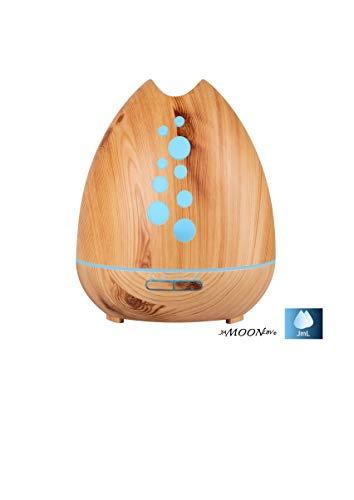 Preisvergleich Produktbild Aroma Diffuser,  JaMoonLbv JmL 400ml Luftbefeuchter Ultraschall Vernebler Raumbefeuchter Elektrisch Duftlampe Öle Diffusor mit 7 Farben LED, mehr als 30ml / h Feuchtigkeitsabgabe für Raum,  Büro, Yoga, Spa