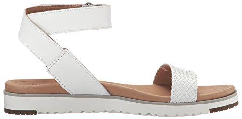 Ugg 1015817white, Sandales Pour Femmes Blanc Blanc Blanc