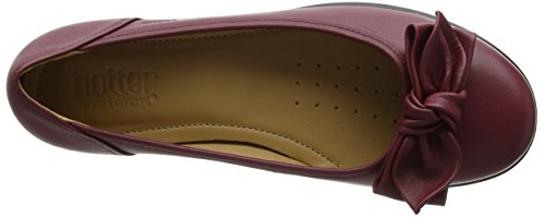 Hotter  Jewel, Ballerines plates femme Red (Ruby)