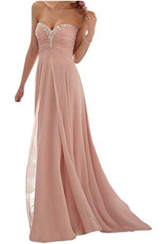 Promgirl House - Robe - Trapèze - Femme Rose - Perlenrosa