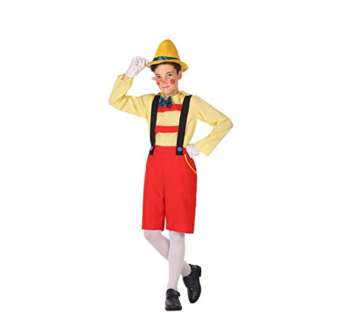 Puppet Kostüm Mann - ATOSA 56922 COSTUME PUPPET 7-9 Jungen Mehrfarbig 7 a 9 años