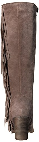 Steve Madden Cacos Tall Boot Taupe Suede