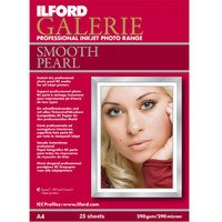 Ilford Galerie Smooth Pearl 21 X 29.7 (A4) X 25 Sheets - 290gsm Inkjet Media
