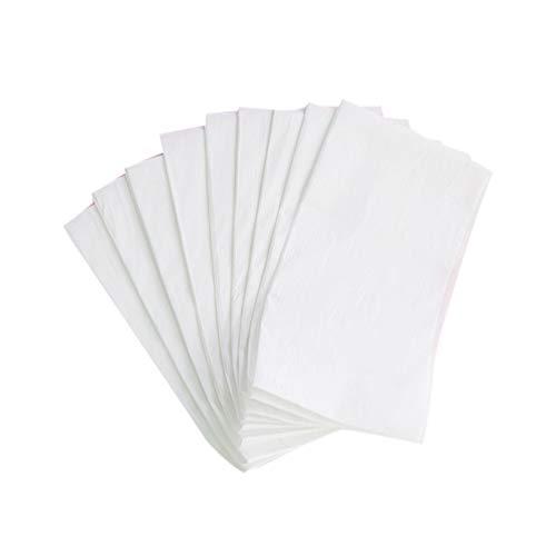 Exceart lenzuolo monouso lenzuolo non tessuto per salone di bellezza lettino da massaggio coprimaterasso hotel