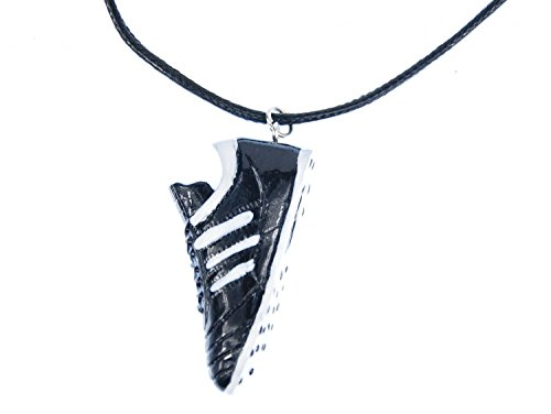 Miniblings Fußballschuh Kette Halskette Textil Fußball EM WM Sport Tor Fußballer