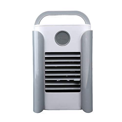 FM BT Mobile KlimageräTe, USB Das Tragbaren MultifunktionsklimaanlagenlüFter-AusgangsküHlschrank AufläDt 3 KüHlstufen Leiser Tischventilator