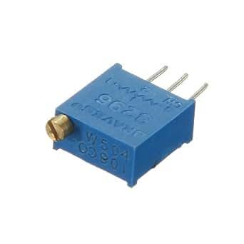 1PC 3296W 3296 potentiomètre de 100 ohms résistance variable.