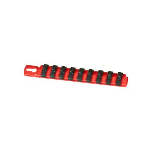 Fabricación Ernst 8410-red-1/4Vaso organizador y 9–1/4-inch Twist Lock clips, 8410-Red-1/4 0W, 0V