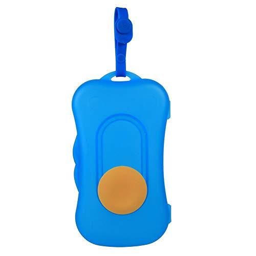 Baby Wipe Case tragbare Baby Kid Wischen Aufbewahrungsbox Feuchttücher Halter Dispenser Kinderwagen Zubehör im Freien Feuchttücherbox(#5)