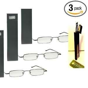 3-pairs-strength-ultra-compact-foster-grant-reading-glasses-thins-with-spring-hinges-and-compact-met