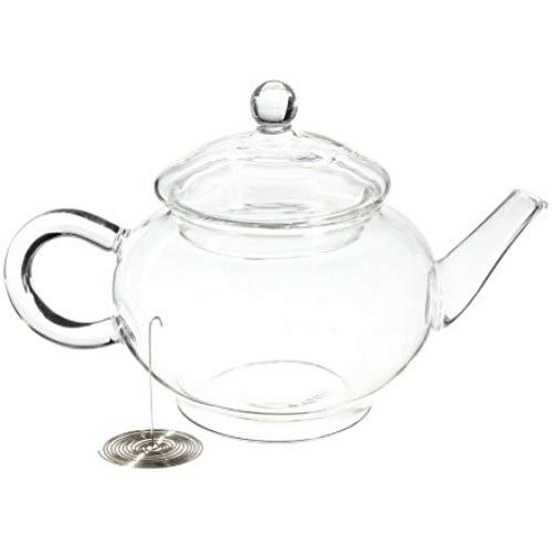 Kschen Borosilicat Durable Glass Teekanne Hitzebeständige Flasche Tasse Für Blühenden Tee Kräuterkaffee Mit Infuser, Teekanne (Tee-tassen Blühenden)