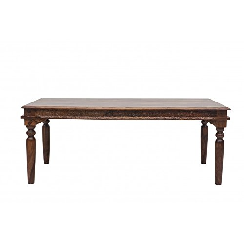 Home by Shekhawati Eight Seater Dining Table (Light Walnut)