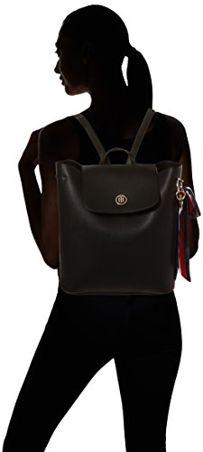 Tommy Hilfiger - Charming Tommy Backpack, Borse a zainetto Donna Nero (Black)