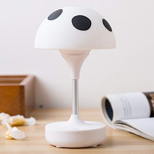 Pilz Kleines Nachtlicht Kinderzimmer Führte Handgepäck Lichter 10 X 7,5 X 17 Cm Weiß -