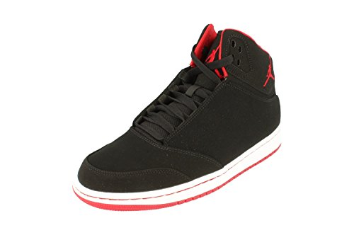 Größe Schuhe Jordan 5 (Nike Jordan 1 Flight 5Herren Schuhe, - Black Black White 001 - Größe: 42)