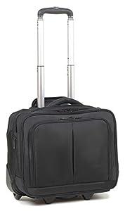"16"" Laptop Business Wheeled Holdall Hand Luggage Cabin Bag Flight Bag on Wheels ***L44 cm x H38 cm x D20 cm***"