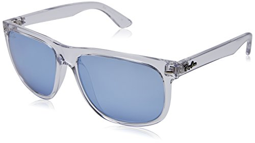 RAYBAN JUNIOR Herren Sonnenbrille RB4147 Transparent/Blueflashsilver, 56