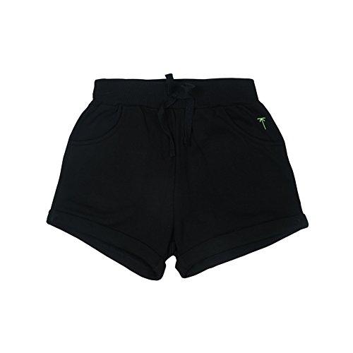 Palm Tree Baby Girls' Shorts (131246516492 C207 CAVIAR (BLACK)(C207) 18M)