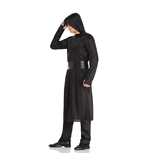 Geist Kostüm Ninja - kMOoz Halloween Kostüm,Outfit Für Halloween Fasching Karneval Halloween Cosplay Horror Kostüm,Halloween Kostüm Adult Herrenbekleidung Ninja Warrior Cosplay Kostüm Samurai Kostüm