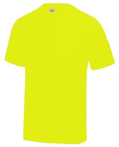 NEON T-SHIRT Kinder NEON T-SHIRTgelb Gr.Kinder 3/4 Jahre (T-shirt Sicherheit Gelb)