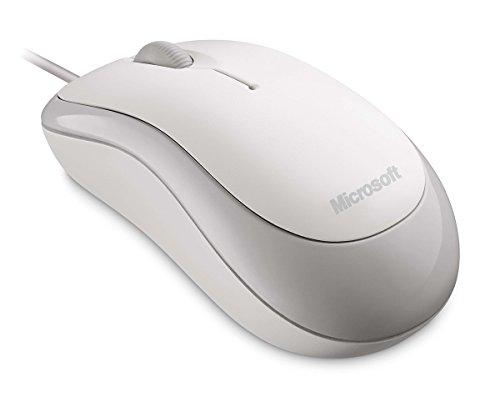 Microsoft Basic Optical Maus weiß (Verpackung für Unternehmen) - Usb-ps/2 Optical Mouse