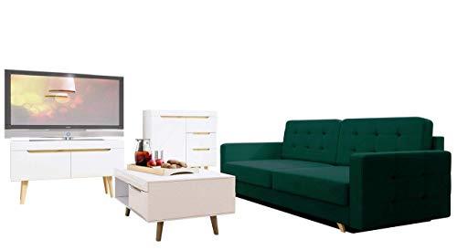 Wohnzimmer-set Nordi 8 + Sofa Vegas, Wohnzimmer im ...