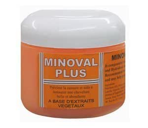 Minoval Plus Natural Vegetable Oil 120 Ml by Minoval BEAUTY (English Manual)