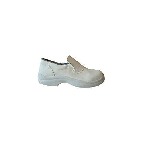 Gaston Mille - Mocassins de sécurité Agro et Hygiène ECOTTAWA BLANC S2 Blanc