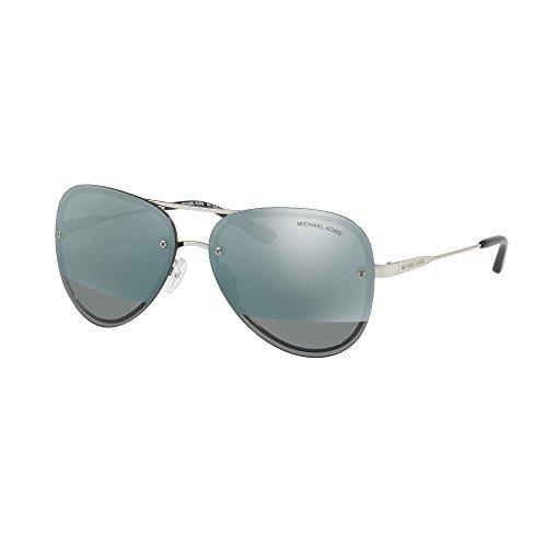 31fVGd1wogL - Michael Kors La Jolla Sunglasses in Gunmetal Mirror MK1026 11181Y 59