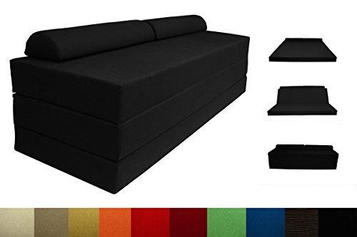 Arketicom pouf letto sleeping maxi un pouf che si trasforma in un comodo letto da una piazza e mezza per ospitare amici e parenti colore cognac misure cm 120x60x45(altezza) puf pouff puff