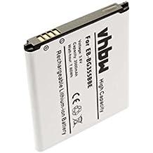 vhbw Li-Ion batería 2000mAh (3.8V) para teléfono móvil teléfono Smartphone Samsung Galaxy Core 2, Galaxy Core Lite, SM-G355 por EB-BG355BBE.